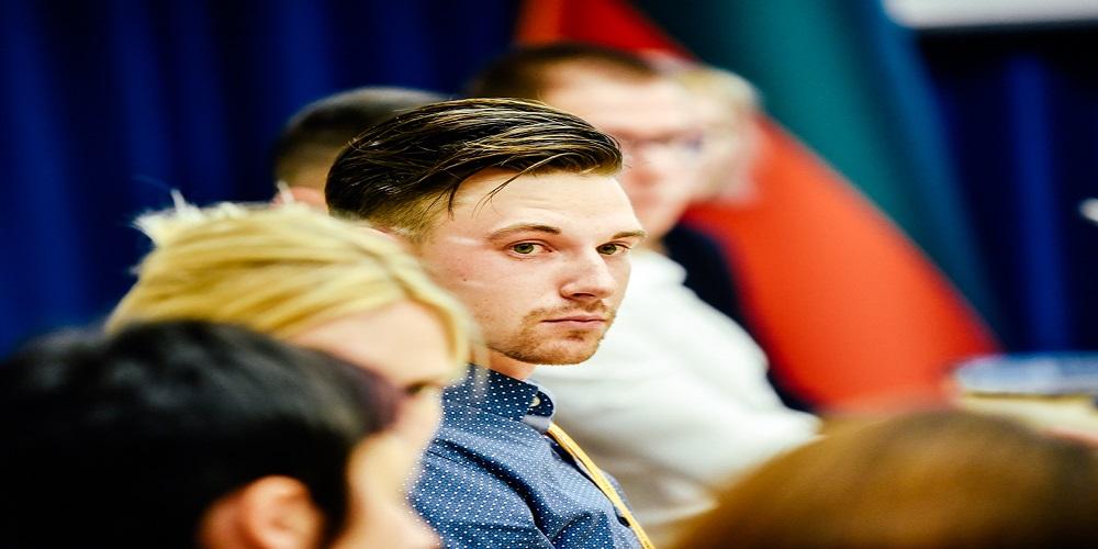 L. Linkevičius pasveikino Rytų kraštų lietuvių jaunimo seminaro dalyvius 2017 10