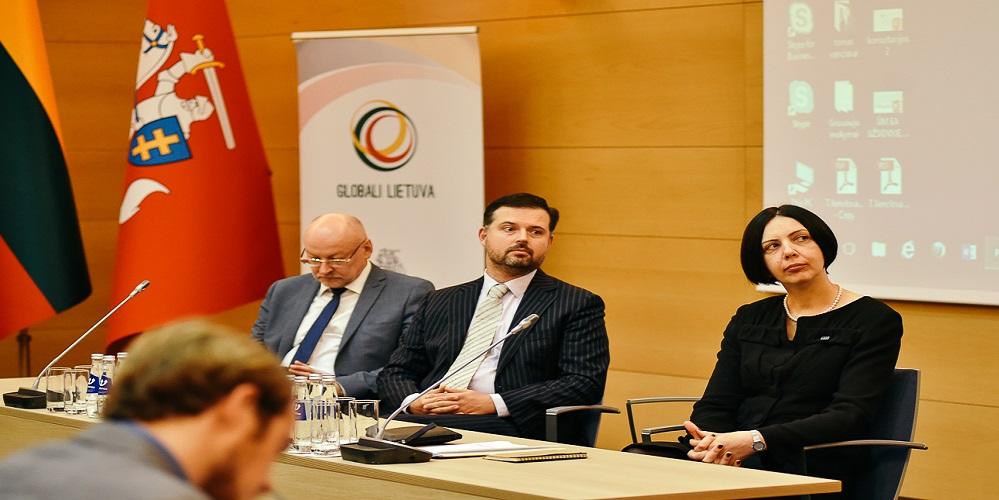 Užsienio reikalų ministerijoje susirinko užsienio lietuviai 2017 10