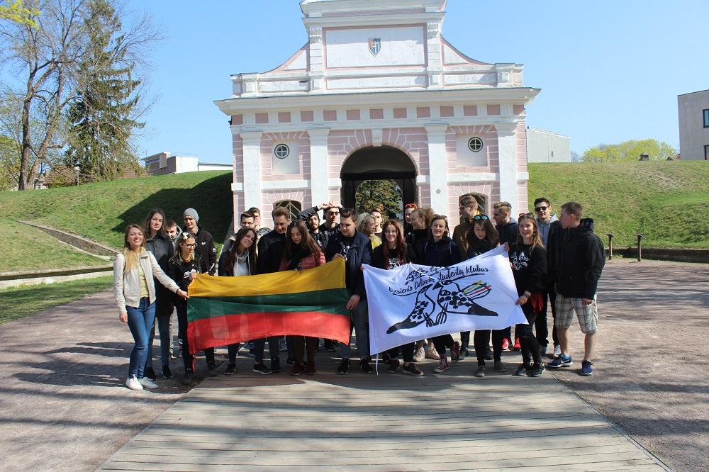 ULSK nariai prie Talino vartų. 2019 04 27